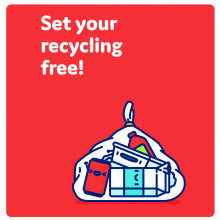 Set your recycling free
