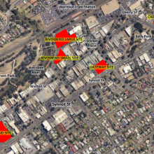 locations of the catalyst developments