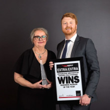 BUSINESS PERSON OF THE YEAR- Jacquelene Brotherton proudly sponsored by Findex Werribee