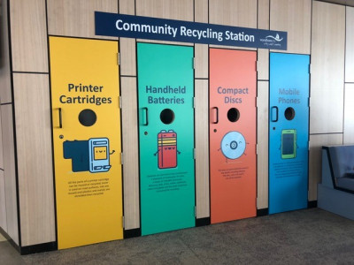 Community Recycling Station