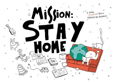 Mission stay home cover