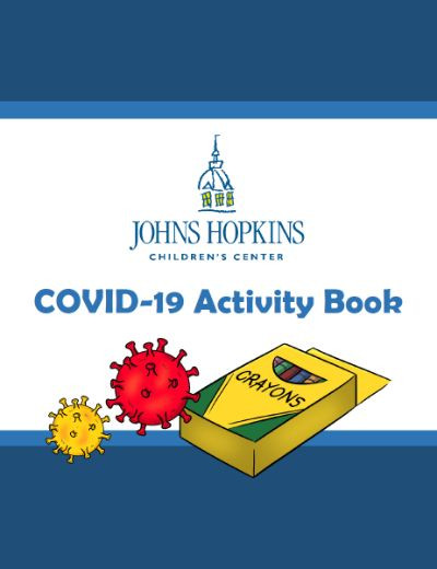Covid-19 Activity book cover