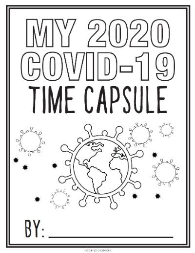My 2020 Covid-19 Time Capsule cover