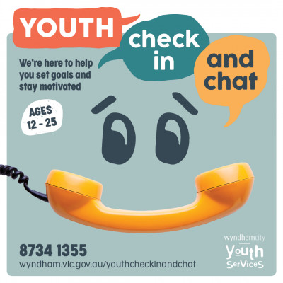 Youth Check in and Chat