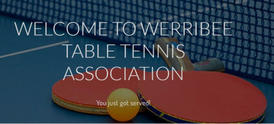 Table Tennis for Over 55s with Werribee Table Tennis Association