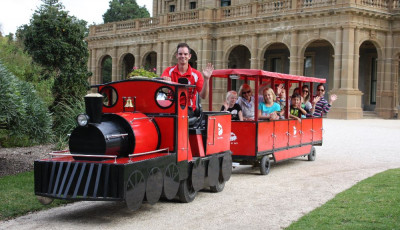 Choo Choo - Little Red Train at Werribee Park