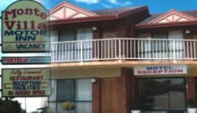 Motel monte villa motor inn wyndham city for Monte villa motor inn