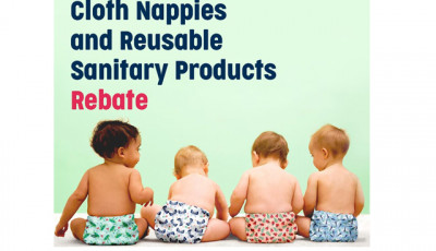 Cloth Nappy and Reusable Sanitary Product Rebate
