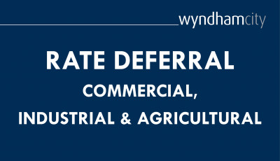 Rate Deferral: Commercial, Industrial & Agriculture