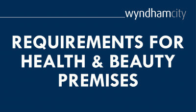 Re-opening Requirements for Health and Beauty Premises