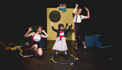 Circus Skills Workshop with Circus Trick Tease