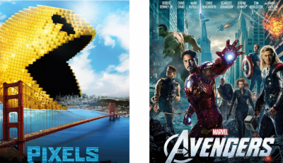 Pop Up Park - Saturday Night Movie: Pixels & The Avengers