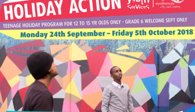 Holiday Action @ the Youth Resource Centre