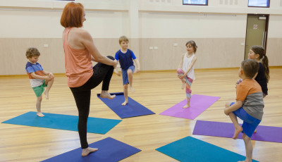 Kids Yoga for (8 to 12 years)
