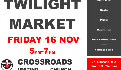 Crossroads Uniting Church Twilight Market