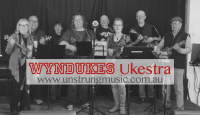 Wyndukes Ukestra - Contemporary Ukulele Group
