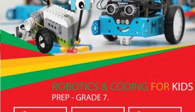 Coding and Robotics for kids: Prep to Grade 7