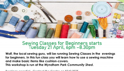 Sewing Classes for Beginners
